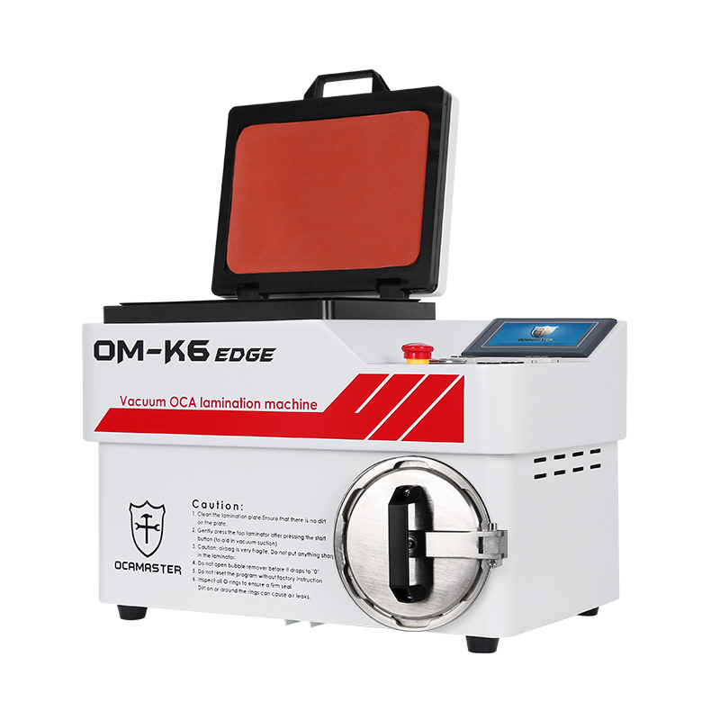 OM-K6EDGE all in one OCA lamination machine for regular flat LCD/OLED EDGE screen laminating
