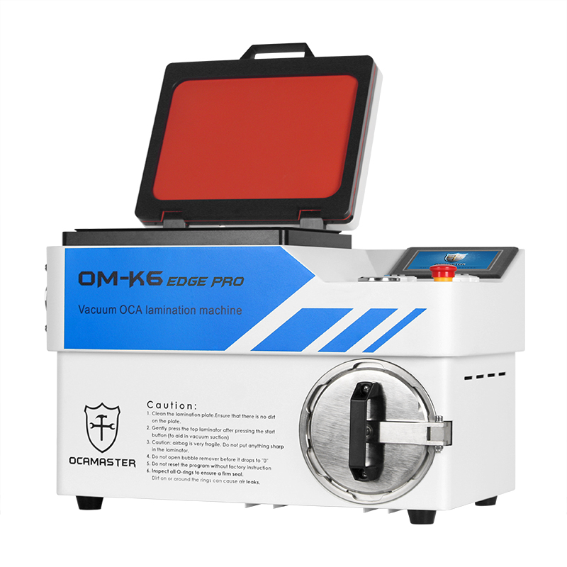 OM-K6EDGE Pro Airbag LCD lamination machine for Samsung edge OLED screen refurbishing