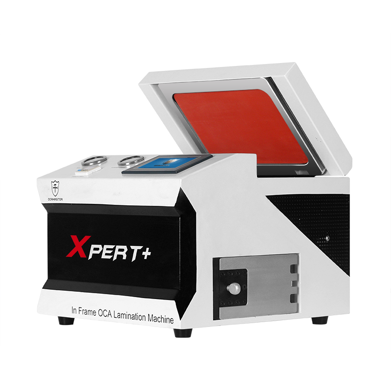 OM-Xpert Plus Airbag LCD screen OCA lamination machine with built in bubble remover