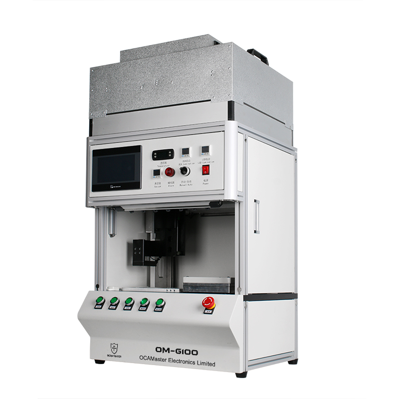 OM-G100 Semi-automatic Airbag LCD Lamination Machine for Samsung Edge OLED Screen Refurbishing