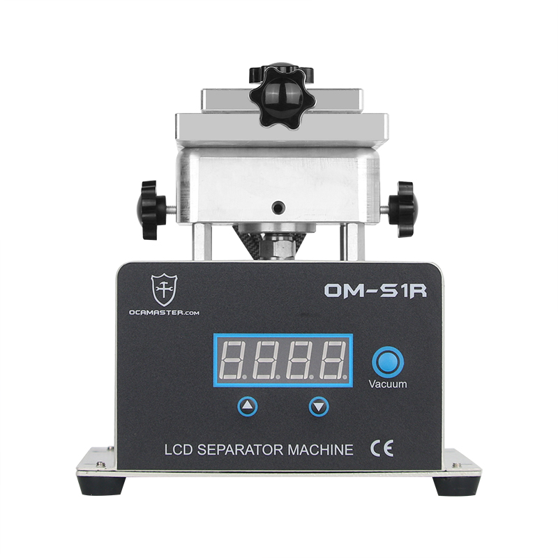 OM-S1R 360 Rotating Separator Machine For Glass Separating With Built In Vacuum Pump