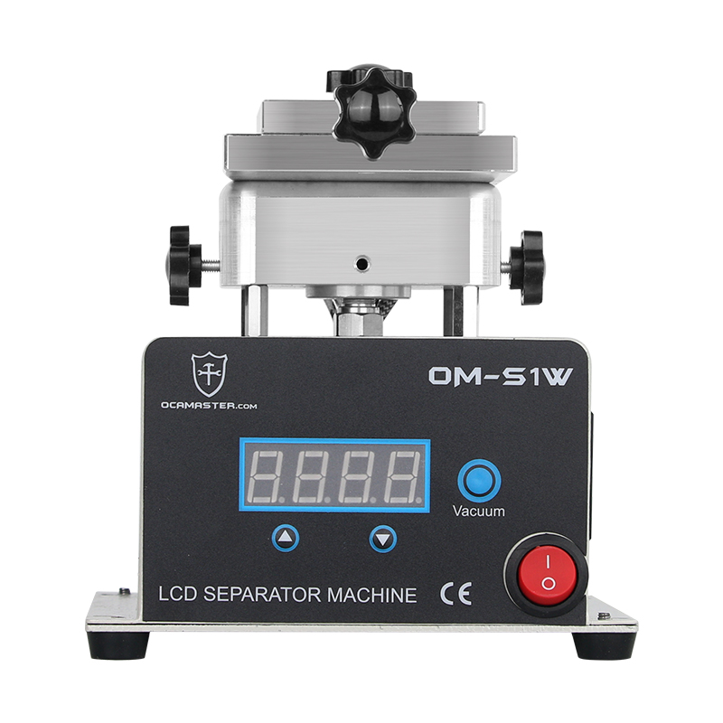 OM-S1W 360 Rotating Separator Machine For Glass Separating With Outside Vacuum Pump